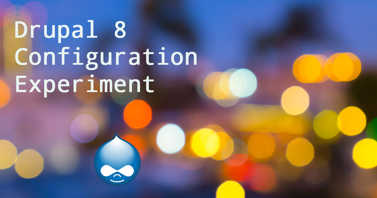 Drupal 8: How to Import Existing Site Configuration Into a